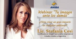 """Lic. Stefania Cesi – Webinar """"Tu Imagen ante los demás"""""""