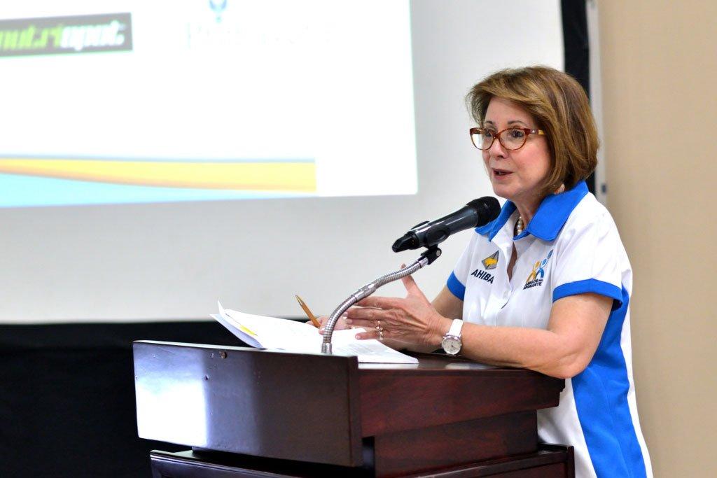 María Lydia Solano, Directora Ejecutiva de Ahiba