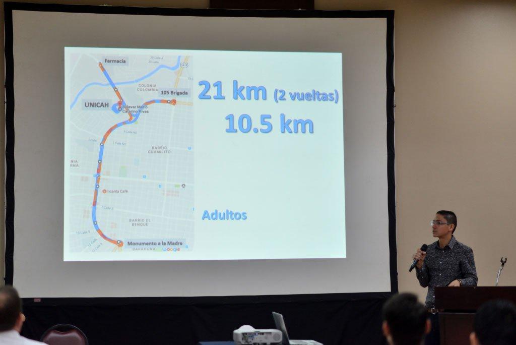 Carlos Mejía, presentación de las rutas de la Migratón 2017