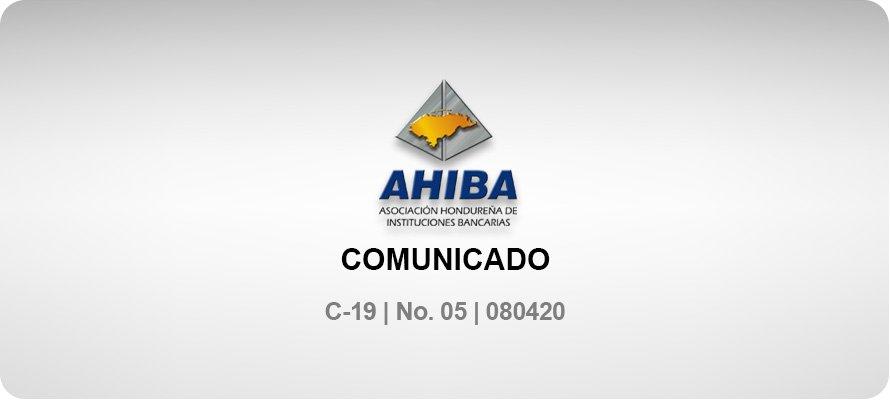 Comunicado - C-19 No. 05 080420