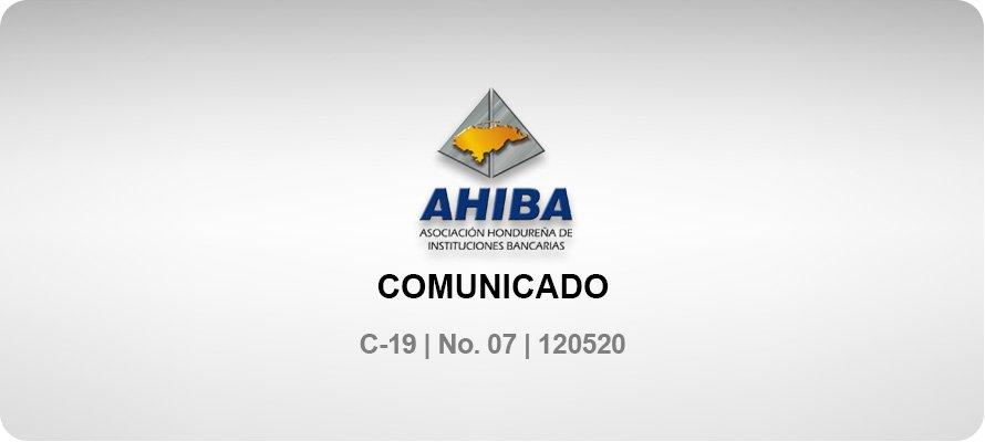 Comunicado - C-19 No. 07 120520