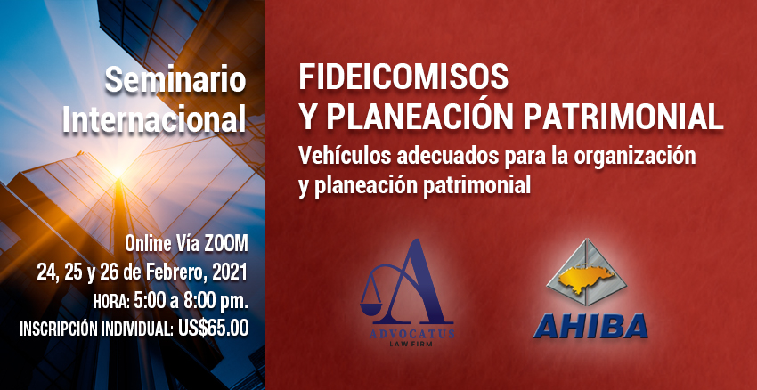 Seminario Internacional Fideicomisos Y Planeación Patrimonial