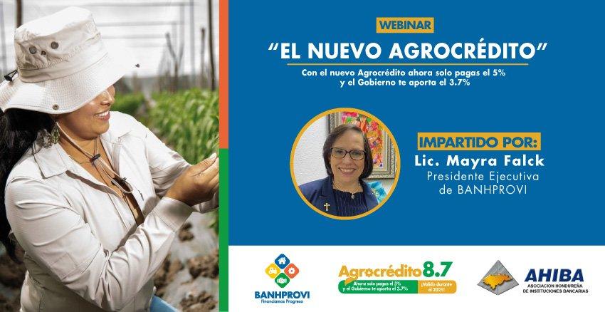 Webinar El Nuevo Agrocrédito